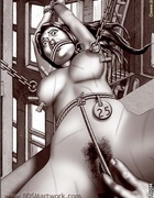 Slave comics. Slave girls get a ring in their…