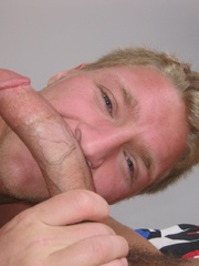 This mega cock is too big for his tight ass - XXXonXXX - Pic 7