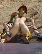 The soldiers fucked an innocent blonde and scoff…