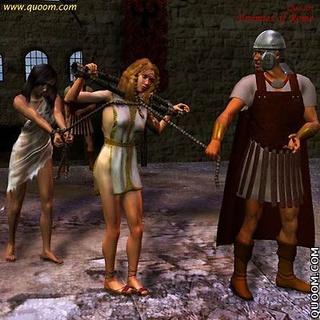 ... Sex slave comics - Enemies Of Rome give the public humiliation of sex ...