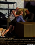 Two criminals violate blone slave girl!