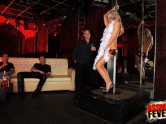 Sexy blonde clubgirl anal screwed and gets - XXX Dessert - Picture 1