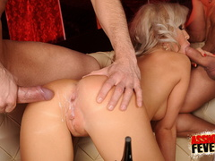 Sexy blonde clubgirl anal screwed and gets - XXX Dessert - Picture 8