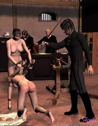 Slave girls need to be washed at first!