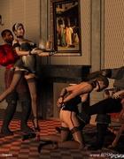 Blode slave girl forsed t oremove her panties!