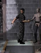 Militaru guys delivered new slaves in castle!