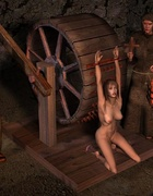 Medieval tortures of slave girls!