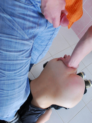 Sassy girl-thief getting spanked and backdoor - XXXonXXX - Pic 6