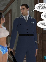 Busty 3d young school girl forced to suck - Cartoon Sex - Picture 6