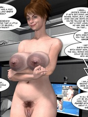 Amazing pics of 3d girlfriends getting naked - Cartoon Sex - Picture 16