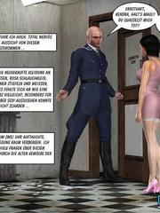 Young 3d lusty nymph seduced investigator and - Cartoon Sex - Picture 4