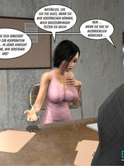 Young 3d lusty nymph seduced investigator and - Cartoon Sex - Picture 11