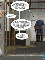 Horny security guy being watched while - Cartoon Sex - Picture 4