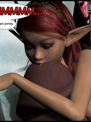 Tiny 3d pixie pleasing rockhard pecker of - Cartoon Sex - Picture 9