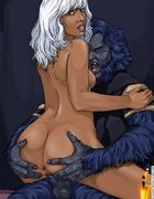 Lusty toon movie celebs enjoying hard cock in…