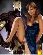 Nasty toon Iron Man fucking his girlfriend's sweet…