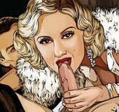 Big boobed cartoon stunner gets her pussy plowed…