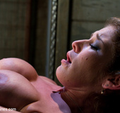Her clit has gone crazy on the love machine. Tags:…