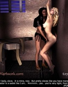 Busty blonde humiliated in the basement of the…