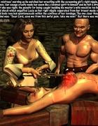 Countess hurts poor girl's nipples!