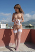 White panties and hot 18 teens on the roof. Tags:…