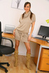 Busty office girl is taking some provocative…
