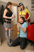 Driving class student gets dominated by two…