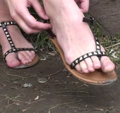 Foot fetish video of young stunner in sexy shoes&hellip;