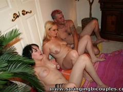 Real swingers' party with a lot of snatches, dicks - XXXonXXX - Pic 1