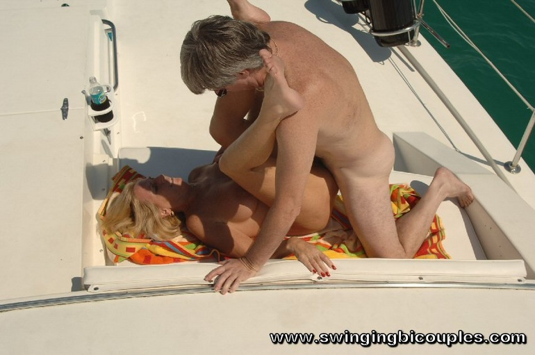 Bikini pulled down spank beach