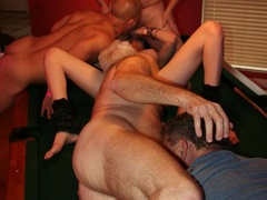 Bisexual dudes love to fuck young sweet chicks and - XXXonXXX - Pic 9