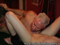 Bisexual dudes love to fuck young sweet chicks and - XXXonXXX - Pic 15