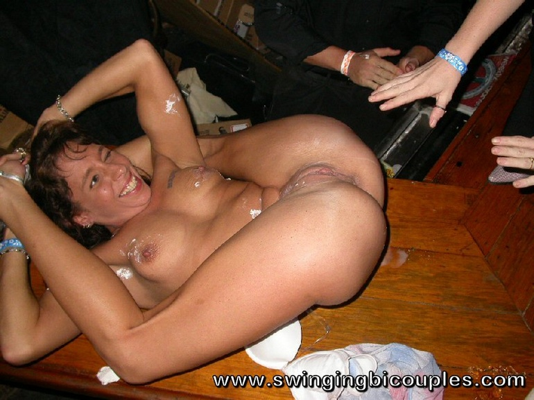 Amateur mature swinger party