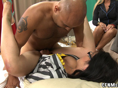 Tattoed guy doesn't mind his dick sucked - XXX Dessert - Picture 13