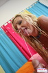 Cum. Blonde babe Jordan Sparx fucks and gets a cum…