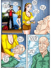 Old man fucks young worker - Free porn comics