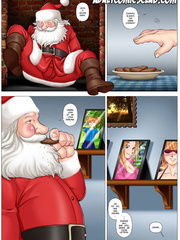Merry SEX Christmas! - Cartoon pictures for adults