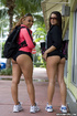 Two of the finest asses you will see at any gym. Come and watch these