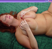 Toni KatVixen Plays With Her Gigantic Tits