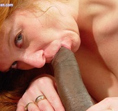 Toni KatVixen Sucks A Giant Black Cock