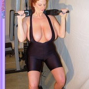Mature females - Busty Babe Works Out - XXX Dessert - Picture 12