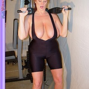 Mature females - Busty Babe Works Out - XXX Dessert - Picture 13