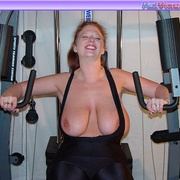 Mature females - Busty Babe Works Out - XXX Dessert - Picture 15