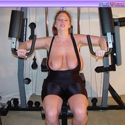 Mature females - Busty Babe Works Out - XXX Dessert - Picture 16