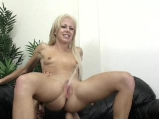 blonde girl has squirting