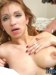 Rough sex - Horny stud rips off petite - XXX Dessert - Picture 18