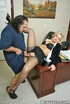 Big titted office girl gets pussy fucked by…