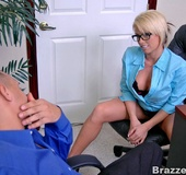 Busty Brooke Haven would do anything for some…