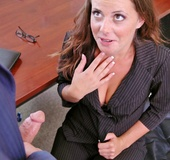 New big titted coworker gets fucked by her boss as…