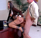 Hardcore office fuck featuring big titted Mikayla…